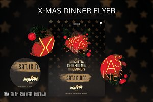 XMAS Dinner Flyer