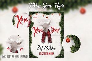 Xmas Shop Flyer