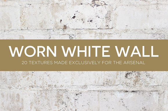 Worn White Wall Texture Pack