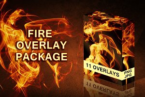 Bundle 11 Fire Overlays