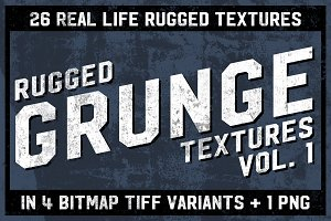 Rugged Grunge Textures Vol. 1