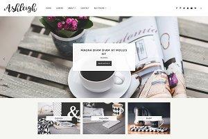Responsive Blogger Template-Ashleigh