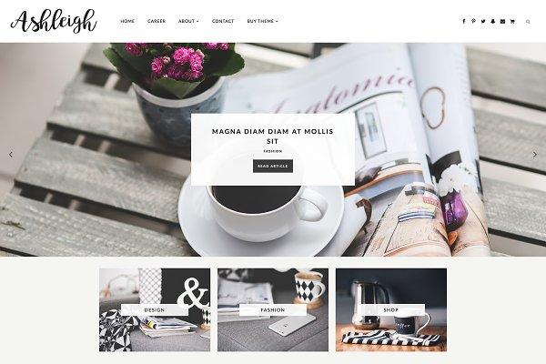 Responsive Blogger Template-Ashleig…