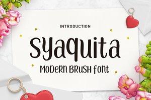 Syaquita Font