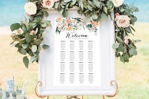 Wedding Seat Chart Template