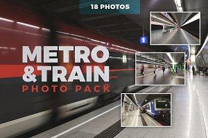 Metro & Train - Photo Pack