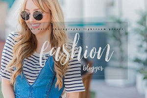 Fashion Blogger Lightroom Preset