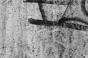 Concrete Graffiti Surface