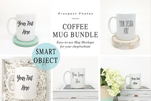 Coffee Mug Mockup Photo Bundle