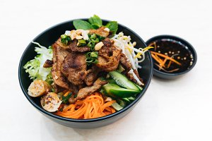 Vietnamese Combination Noodle