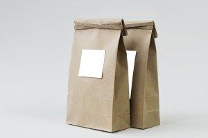 Paper bag mockup(PNG)