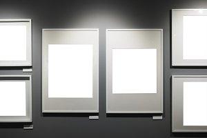 Picture frames mockup(PNG)