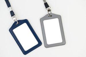 ID holder mockup(PNG)