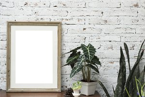 Design space photo frame (PNG)
