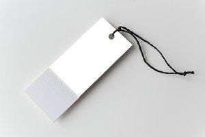 Price tag mockup(PNG)