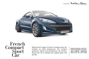 French Compact Sport Car