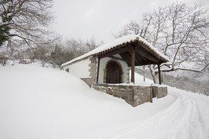 Chapel at winter