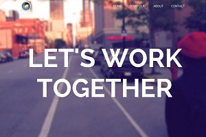 Avenuue - Portfolio (HTML/CSS)