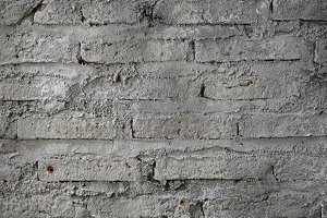 bricked wall