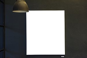 Design space on paper board (PNG)