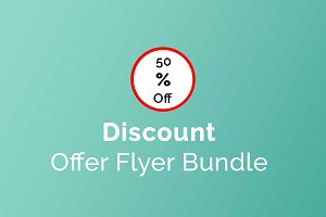 Flyer Bundle Discount Offer
