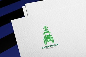 Electric Tractor Logo
