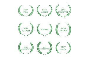 Film Awards, award wreaths