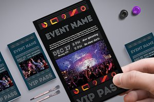 Multipurpose VIP Pass Card