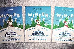 Winter Festival Flyer