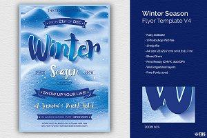 Winter Season Flyer Template V4