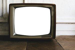 vintage television (PNG)
