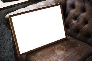 blackboard mockup (PNG)
