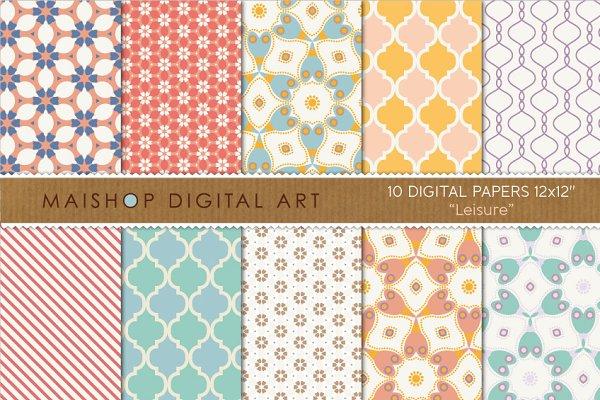 Digital Paper - Leisure
