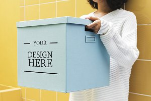 Design space on paper box (PSD)