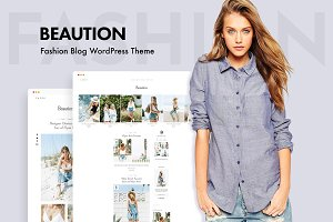 Beaution - WordPress Blog Theme