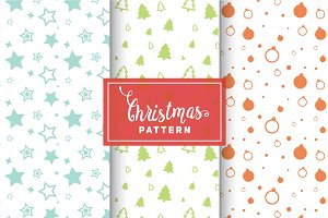 Christmas Vector Patterns #1