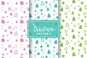 Christmas Vector Patterns #2