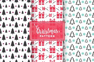 Christmas Vector Patterns #3