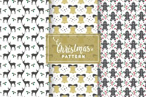Christmas Vector Patterns #4
