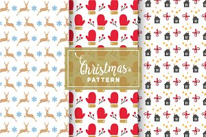 Christmas Vector Patterns #5