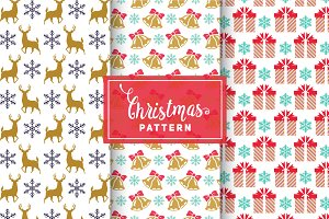 Christmas Vector Patterns #6