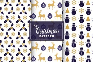 Christmas Vector Patterns #8
