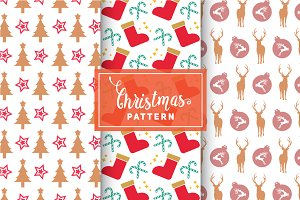Christmas Vector Patterns #10