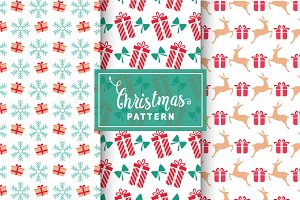 Christmas Vector Patterns #11