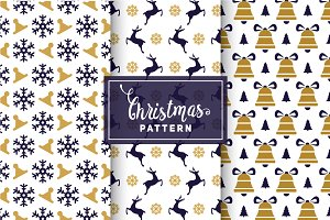 Christmas Vector Patterns #12