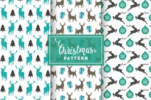 Christmas Vector Patterns #13