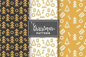 Christmas Vector Patterns #14