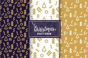 Christmas Vector Patterns #15