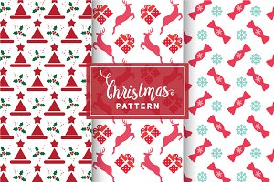 Christmas Vector Patterns #16
