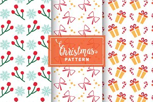 Christmas Vector Patterns #17